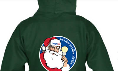 Free Screwfix Christmas Santa Hoodie