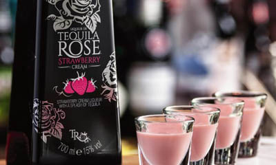 Free Tequila Rose Stawberry Cream Liqueur