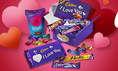 Free Cadbury Valentine's Chocolate Hamper