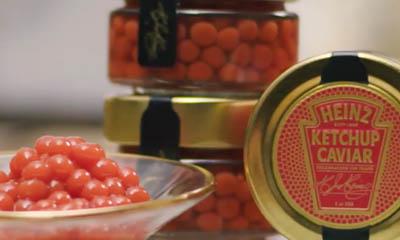Free Jar of Heinz Ketchup Caviar