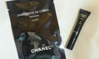 Free Mini Dimensions de Chanel Mascara