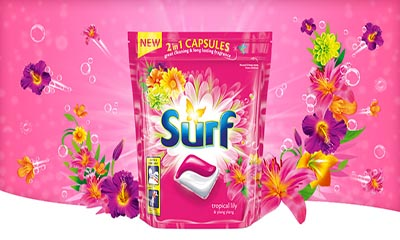 Free Surf Laundry Capsules