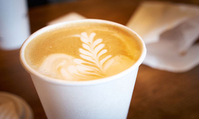 Free Takeaway Latte – today only!