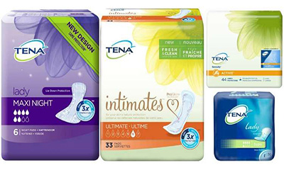 Free Tena Lady Sample Pack