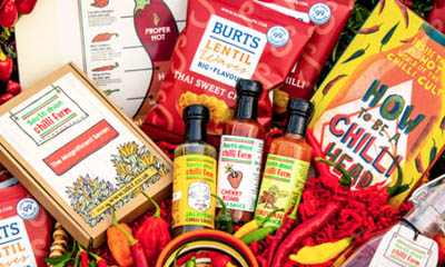 Win a Burts Crisps Spicy Chilli Hamper