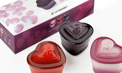 Win a Le Creuset Heart-shaped Ramekins