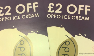 Free £2 Oppo Ice Cream Voucher