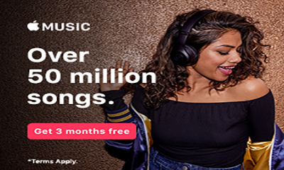 Free Apple Music Trial (3 Months)