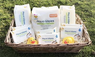Free Aqua Wipes Baby Hamper