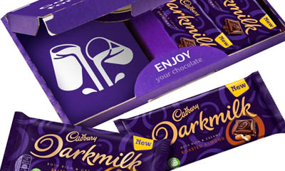 Free Cadbury Darkmilk Chocolate Bar Collections