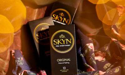 Free Pack of Skyn Condoms