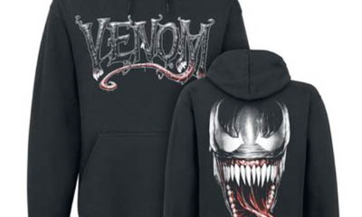 Free Venom Blu-RAY DVDs & Hoodies