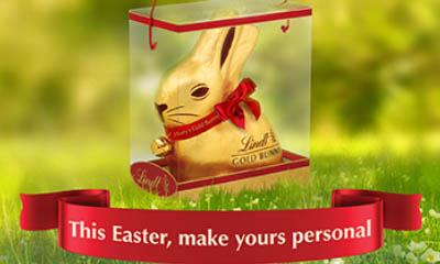 Free 1kg Lindt Gold Bunny