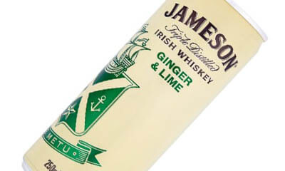 Free Can of Jameson Whisky Ginger & Lime