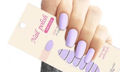 Free Colourful Nail Set
