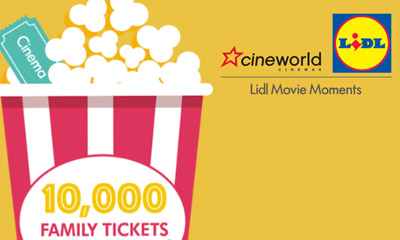 Free Family Cinema Tickets form Lidl