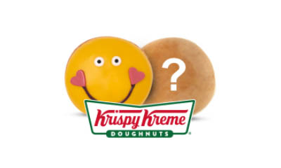 Free Happiest Doughnut from Krispy Kreme