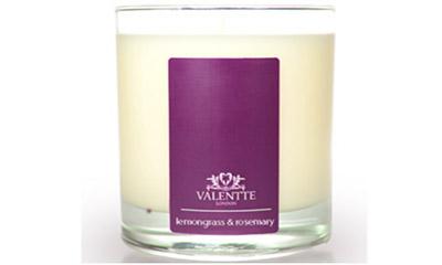 Free Lemongrass & Rosemary Candle