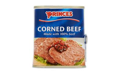 Free Princes Corned Beef