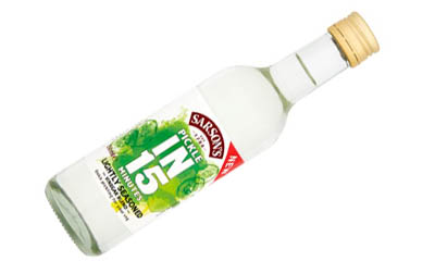 Free Sarson's Lightly Seasoned Vinegar