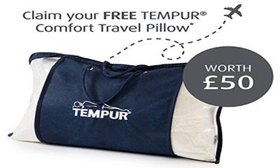 Free Tempur Pillow (Worth £50)