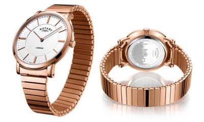 Win a Rose Gold Rotary Watch