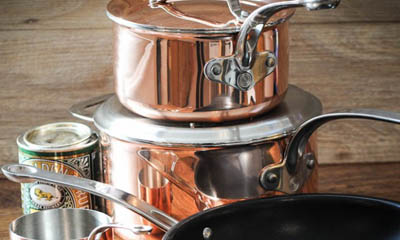 Win a Set of 4 ProWare Copper Pans
