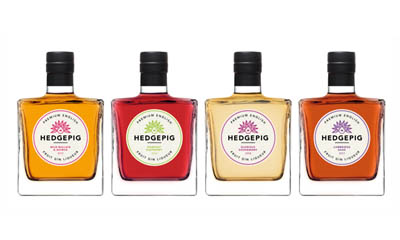Win a Set of Hedgepig Fruit Gin Liqueurs