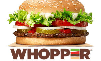Free Burger King Whopper – TODAY ONLY