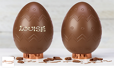 Free Chocolate Easter Egg