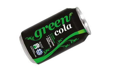 Free Green Coca-Cola (4 Pack)