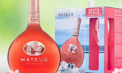 Free Mateus Rose Wine & Flute Glasses