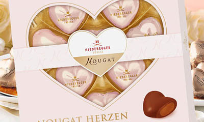 Free Niederegger Truffle Marzipan Hearts