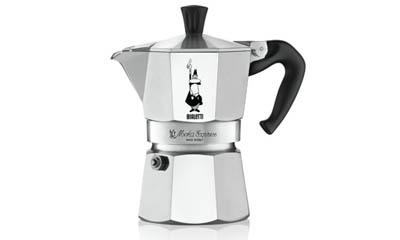 Win a 9-cup Bialetti Espresso Maker