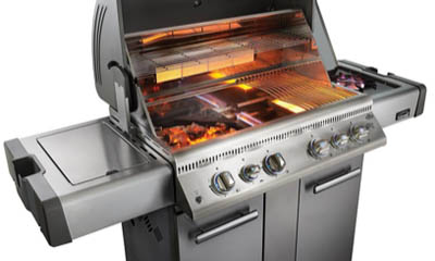 Win a Napoleon Gas Barbecue