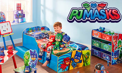 Win a PJ Masks Bedroom HQ