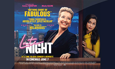 Free Cinema Tickets To See Late Night