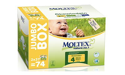 Free Moltex Natural Maxi Nappies