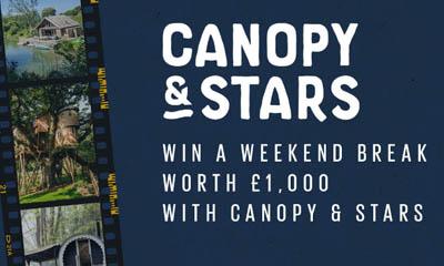 Win a Canopy & Stars Weekend Break
