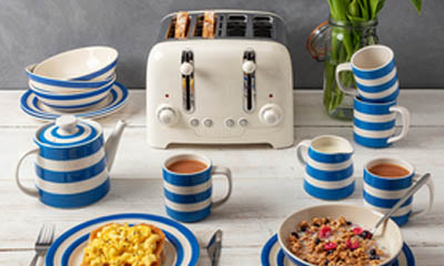 Win a Cornishware breakfast set and a Lite Toaster