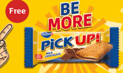 Free Bahlsen PickUp Chocolate Biscuits
