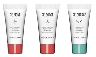 Free My Clarins Sample Pack