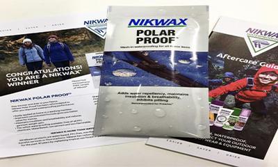 Free Nikwax Waterproof Spray
