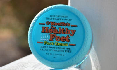 Free O'Keeffe's Foot Lotion – ends soon!