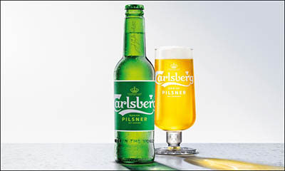 Free Pint of new Carlsberg Danish Pilsner