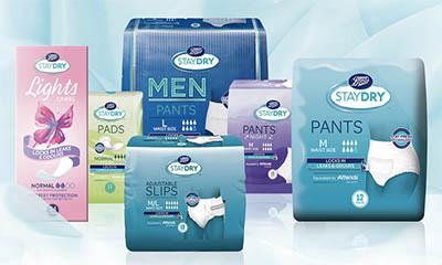 Free Staydry Sample Pack