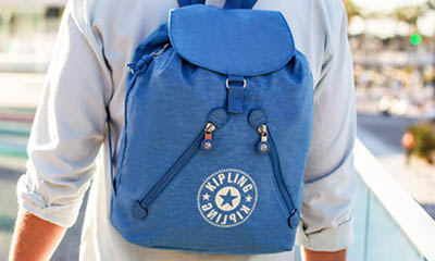 Win a Kipling Fundamental NC Backpack Bag