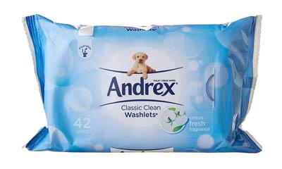 Free Andrex Washlets