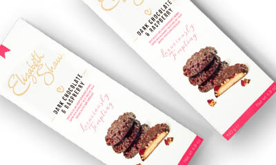 Free Elizabeth Shaw Dark Chocolate & Raspberry Biscuits