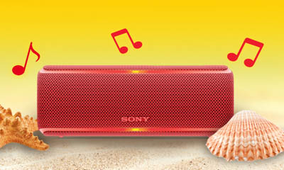 Free Portable Sony Speaker from Pringle